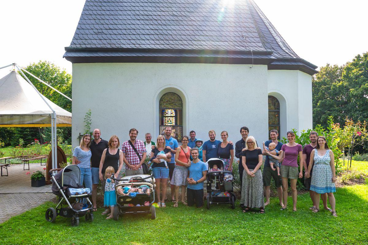 1. Babysegen beim Heiligtum
